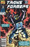 Cover for The Transformers (Marvel, 1984 series) #67 [Newsstand Edition]