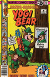 Cover for Yogi Bear (Marvel, 1977 series) #9