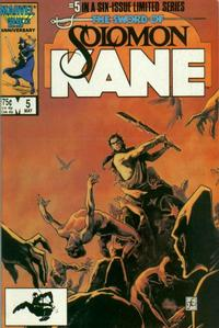 Cover Thumbnail for Solomon Kane (Marvel, 1985 series) #5