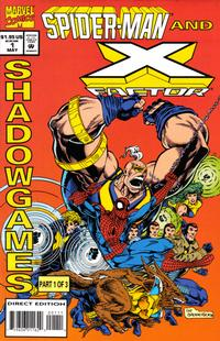 Cover Thumbnail for Spider-Man and X-Factor: Shadowgames (Marvel, 1994 series) #1