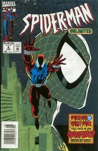 Cover Thumbnail for Spider-Man Unlimited (Marvel, 1993 series) #8 [Newsstand Edition]