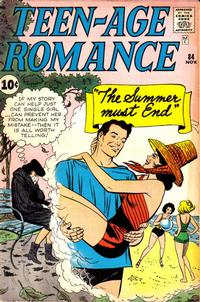 Cover for Teen-Age Romance (Marvel, 1960 series) #84