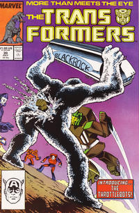 Cover Thumbnail for The Transformers (Marvel, 1984 series) #30 [Direct]