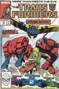 Cover Thumbnail for The Transformers (Marvel, 1984 series) #37
