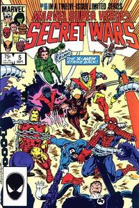 Cover Thumbnail for Marvel Super-Heroes Secret Wars (Marvel, 1984 series) #5 [Direct Edition]