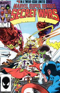Cover Thumbnail for Marvel Super-Heroes Secret Wars (Marvel, 1984 series) #9 [Direct Edition]
