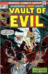 Cover Thumbnail for Vault of Evil (Marvel, 1973 series) #20