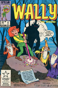 Cover Thumbnail for Wally the Wizard (Marvel, 1985 series) #4 [Direct Edition]