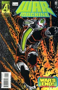 Cover Thumbnail for War Machine (Marvel, 1994 series) #25