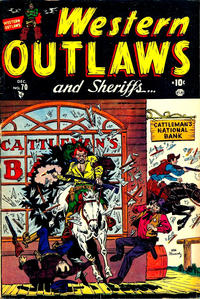 Cover Thumbnail for Western Outlaws and Sheriffs (Marvel, 1949 series) #70