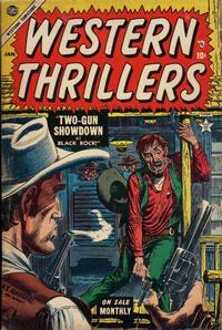 Cover Thumbnail for Western Thrillers (Marvel, 1954 series) #3