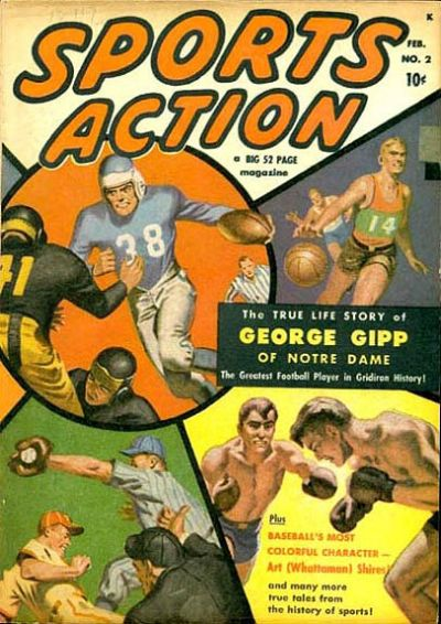 Cover for Sports Action (Marvel, 1950 series) #2