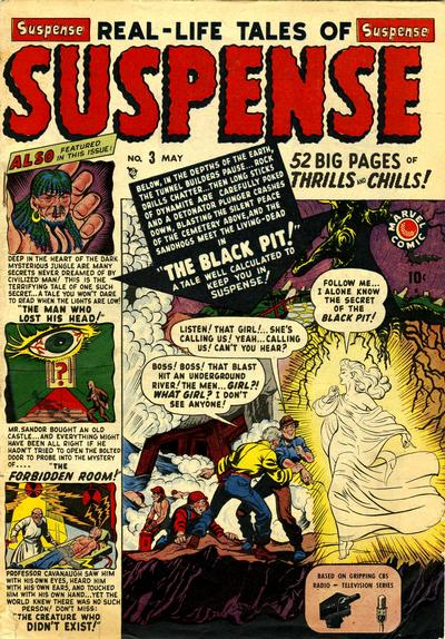 Cover for Suspense (Marvel, 1949 series) #3