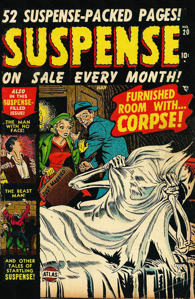 Cover for Suspense (Marvel, 1949 series) #20