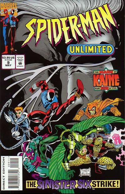 Cover for Spider-Man Unlimited (Marvel, 1993 series) #9