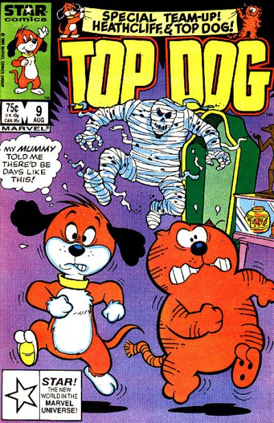 Cover for Top Dog (Marvel, 1985 series) #9