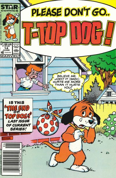 Cover for Top Dog (Marvel, 1985 series) #14