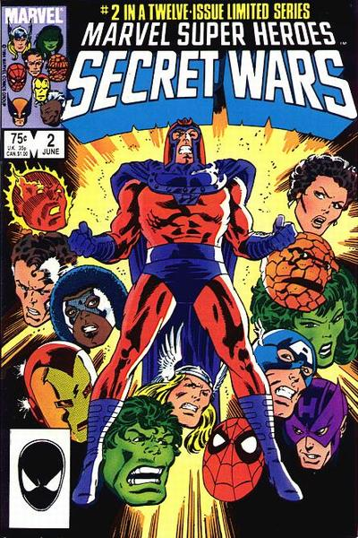 Cover for Marvel Super-Heroes Secret Wars (Marvel, 1984 series) #2 [Direct Edition]