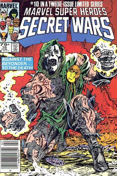 Cover for Marvel Super-Heroes Secret Wars (Marvel, 1984 series) #10 [Newsstand Edition]
