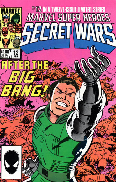 Cover for Marvel Super-Heroes Secret Wars (1984 series) #12 [Newsstand Edition]