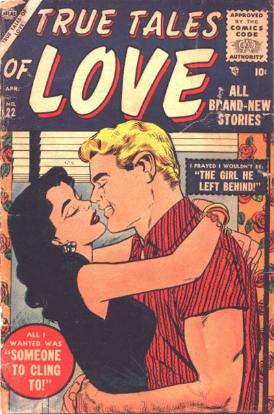 Cover for True Tales of Love (1956 series) #22