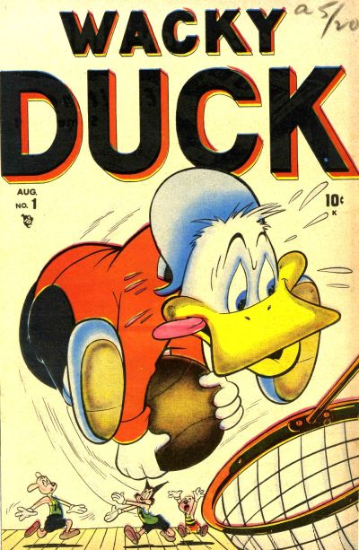 Cover for Wacky Duck (Marvel, 1948 series) #1