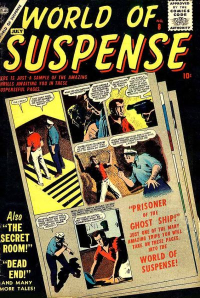 Cover for World of Suspense (Marvel, 1956 series) #8