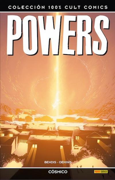 Cover for 100% Cult Comics. Powers (Panini España, 2009 series) #[10]