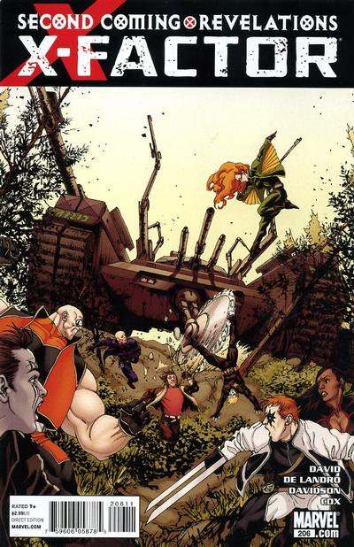 Cover for X-Factor (Marvel, 2006 series) #206