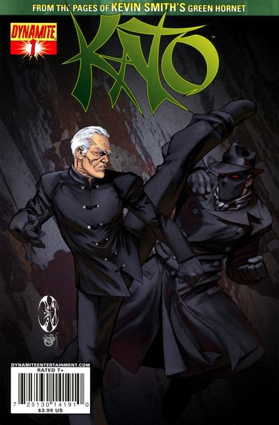 Cover for Kato (Dynamite Entertainment, 2010 series) #1 [Benitez Chase Cover]