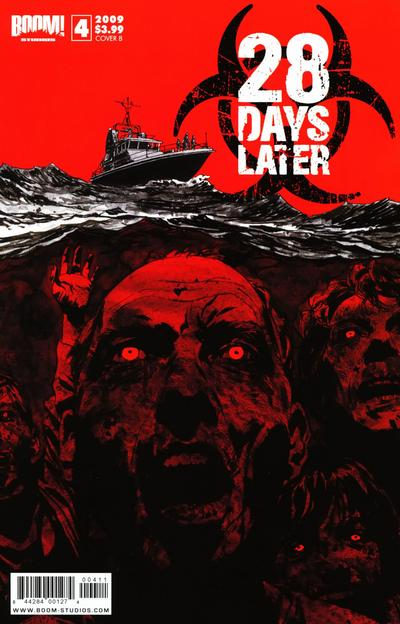 Cover for 28 Days Later (2009 series) #4 [Cover A]