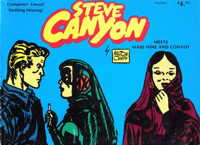 Cover for Steve Canyon (Comic Art Publishing, 1977 series) #4