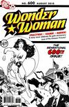 Cover Thumbnail for Wonder Woman (2006 series) #600 [Adam Hughes Sketch Variant]