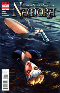 Cover Thumbnail for Namora (Marvel, 2010 series) #1