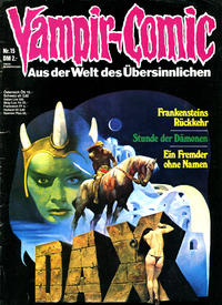 Cover Thumbnail for Vampir-Comic (Pabel Verlag, 1974 series) #15