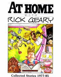 Cover Thumbnail for At Home With Rick Geary: Collected Stories 1977-85 (Fantagraphics, 1985 series)