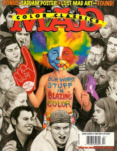 Cover for Mad Color Classics (2000 series) #7