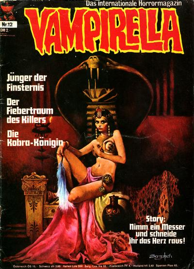 Cover for Vampirella (1973 series) #12