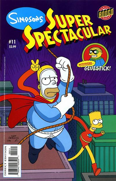 Cover for Bongo Comics Presents Simpsons Super Spectacular (2005 series) #11