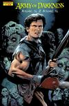 Cover for Army of Darkness: Ashes 2 Ashes (Devil's Due Publishing, 2004 series) #2 [Greg Land Cover]