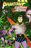 Cover for The Phantom - Captain Action (Moonstone, 2010 series) #1 [Cover C]