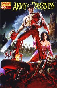 Cover Thumbnail for Army of Darkness (Dynamite Entertainment, 2005 series) #5 [Original Movie Poster Cover]