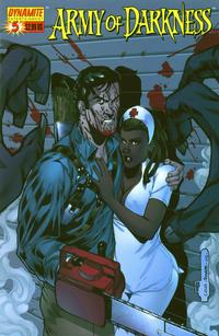 Cover Thumbnail for Army of Darkness (Dynamite Entertainment, 2005 series) #5 [Kevin Sharpe Cover]