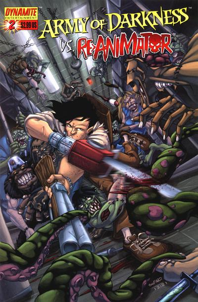 Cover for Army of Darkness (Dynamite Entertainment, 2005 series) #2 [Cover A]