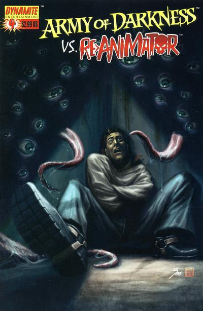 Cover for Army of Darkness (Dynamite Entertainment, 2005 series) #4 [Cover C - 1 in 10 Variant Cover]