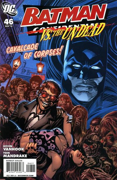 Cover for Batman Confidential (DC, 2007 series) #46