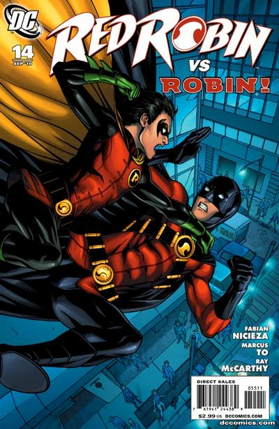 Cover for Red Robin (DC, 2009 series) #14