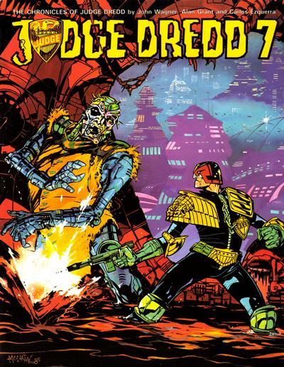 Cover for Judge Dredd (1981 series) #7