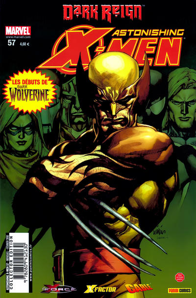 Cover for Astonishing X-Men (Panini France, 2005 series) #57