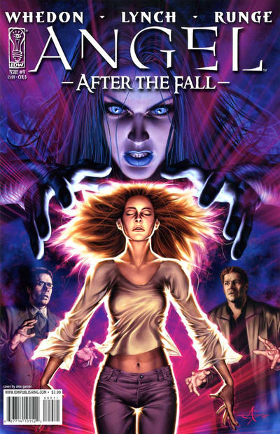 Cover for Angel: After the Fall (2007 series) #9 [Cover A]